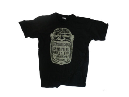"Brainbangers Ball T-Shirt ""Black"" Man"