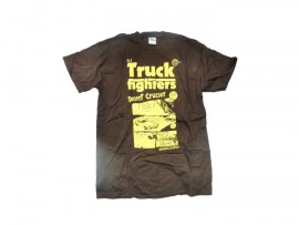 "TRUCKFIGHTERS T-Shirt ""Desert Cruiser"" brown"