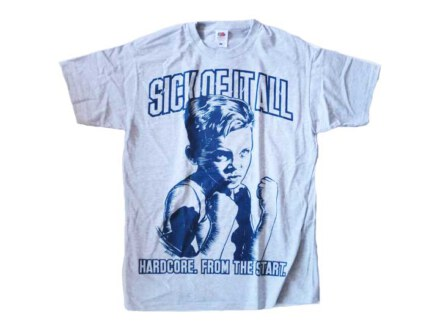 """Sick Of It All T-Shirt """"HC from the Start"""" Man"""