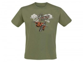 "Up In Smoke ""Festivalshirt 2013 – Khaki"" Man"